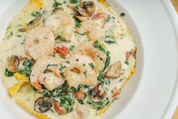 Shrimp & Garlic Ravioli