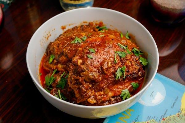 Stew Chicken Platter