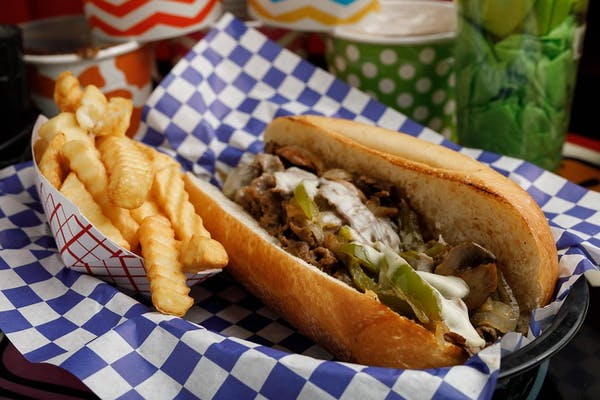 Philly Cheesesteak Sandwich Combo