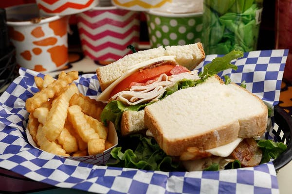 Jersey Turkey Club Sandwich Combo