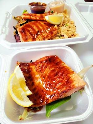 Salmon Fillet Hibachi