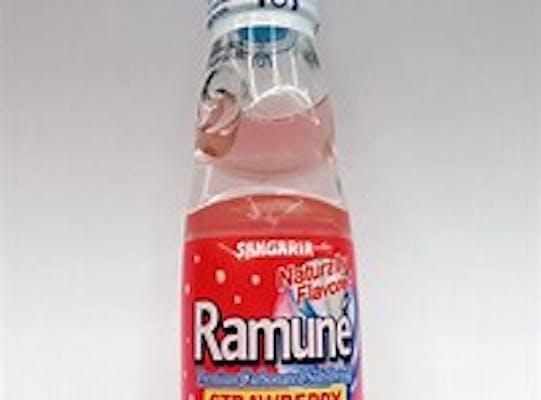 Ramune Japanese Soda Strawberry