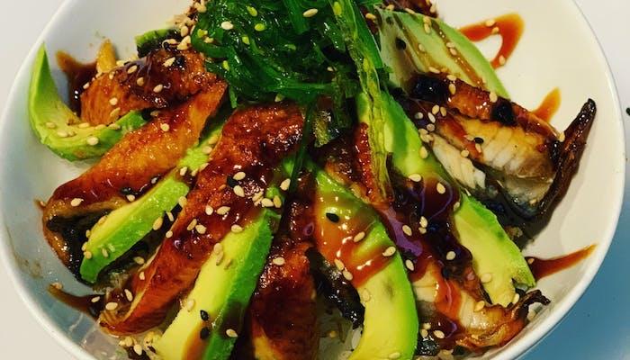 Unagi Don (Eel rice bowl)