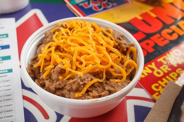 Refried Beans & Cheese