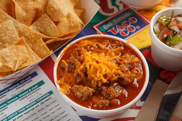 Chili Bowl with Chips