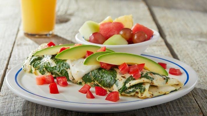 Egg White Vegetable Omelette
