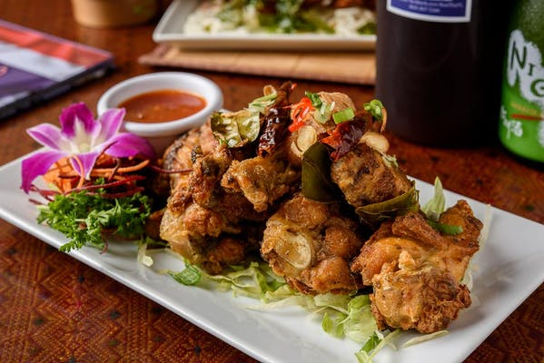 Spicy Thai Herb Chicken Wings