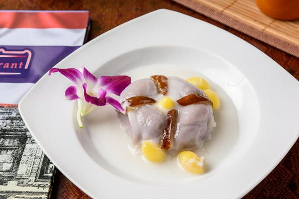 Taro Pearl in Coconut Cream