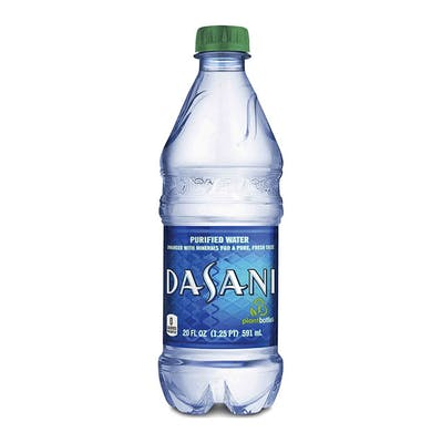 Bottled Dasani Water