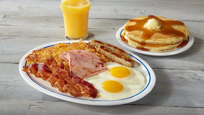 Big Three-Egg Breakfast