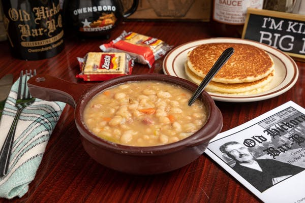 Bean Soup & Cornbread
