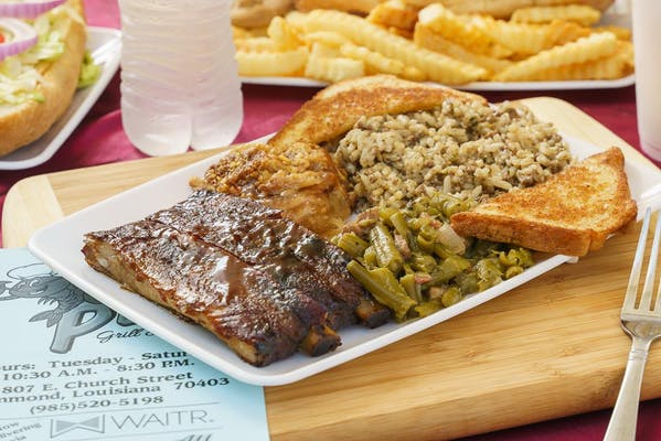 Thursday Lunch Special-  BBQ Ribs