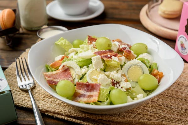 Grape Feta & Bacon Salad