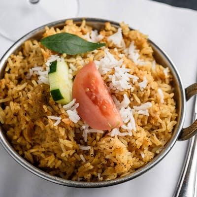 Saffron Chicken Biriyani