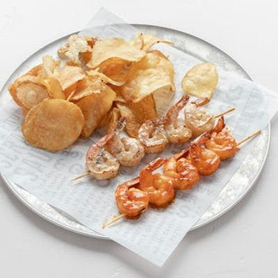 Chargrilled Shrimp Skewers