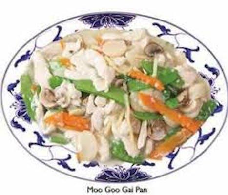 20. Moo Goo Pai Chicken