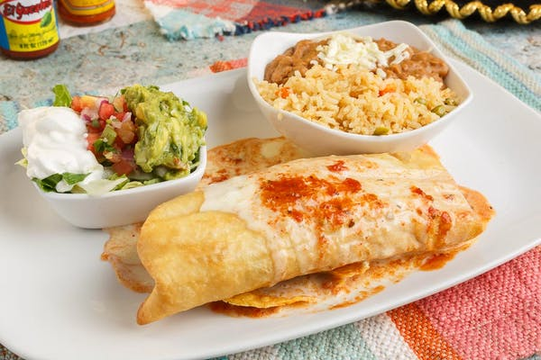 Loaded Chimichanga