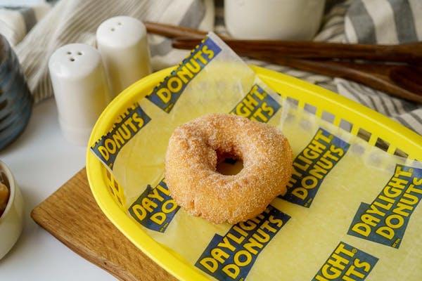 Cinnamon Sugar Cake Donut