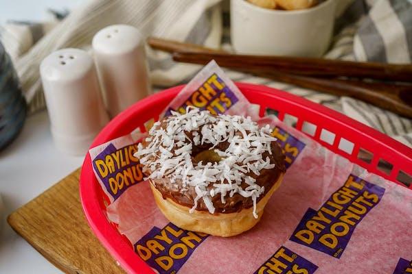 Coconut Sprinkle Donut