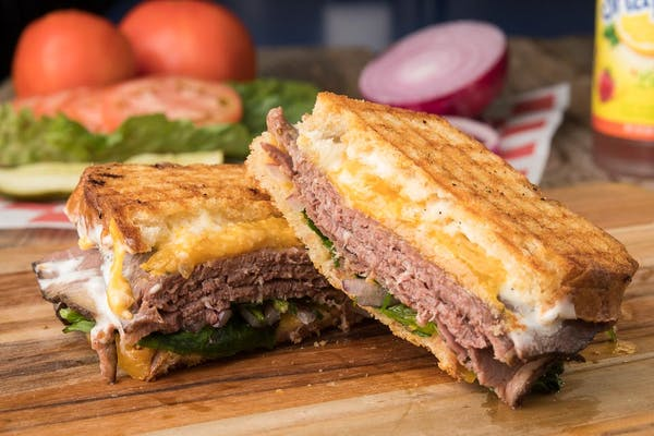 The Better Beef & Cheddar Sandwich