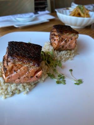 Salmon Small Plate