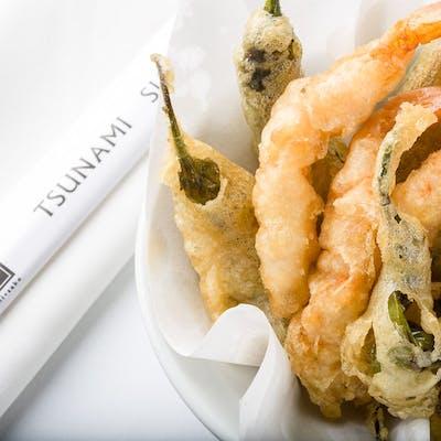Shishito & Shrimp