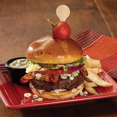 Avocado Bison Burger