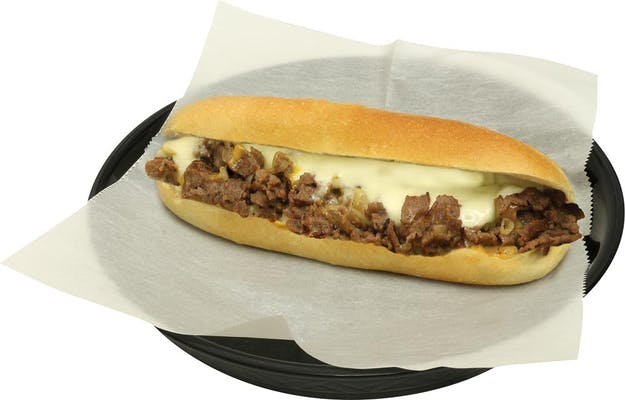 Triple-Cheese Cheesesteak