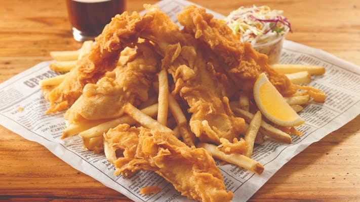 Captain's Fish & Chips Lrg