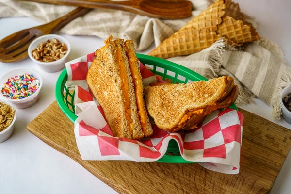 (3) Layer Grilled Cheese Sandwich