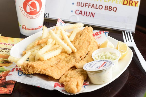 Fried Whiting Combo