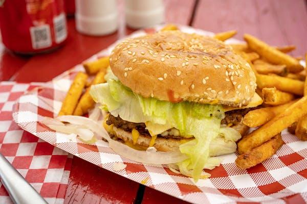 King Single Burger
