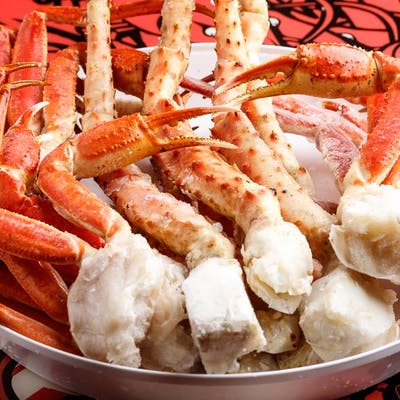 Boiled King Crab