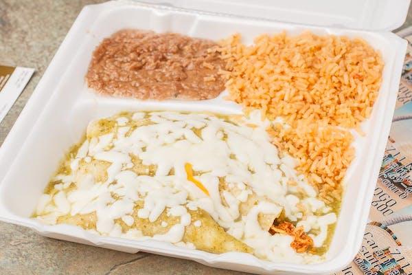 #20 Enchiladas Verdes