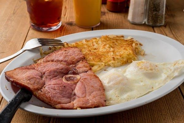 Country-Style Ham Breakfast