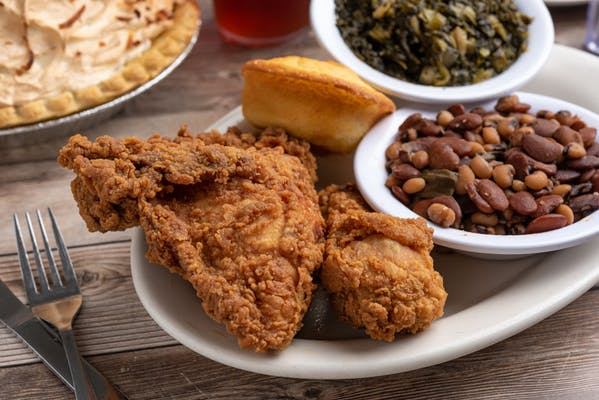 (2 pc.) Fried Chicken Dinner