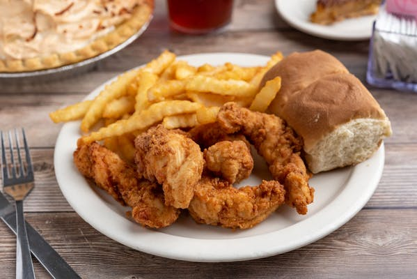 Fried Chicken Finger Dinner