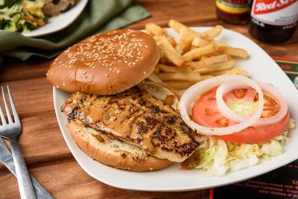 Iris Fish Sandwich