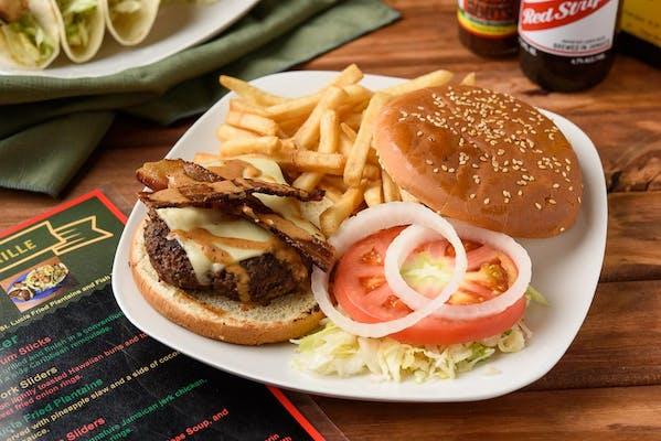 Reggae Burger & French Fries