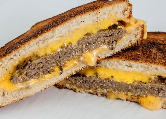 Grilled Cheese Patty Melt