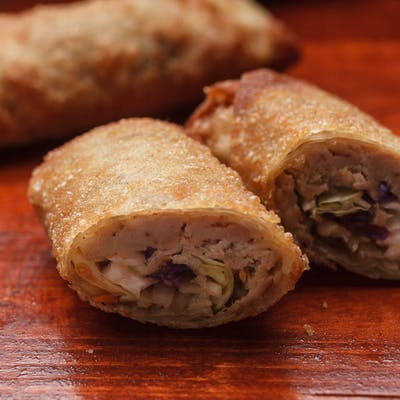 Pulled Pork & Pepper Jack Egg Rolls