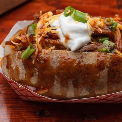 Loaded BBQ Smoked Potato