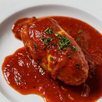 Meat-Stuffed Squash
