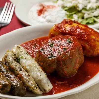 Meat-Stuffed Plate