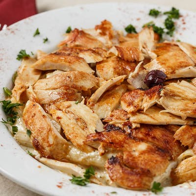 Alfredo Penne Pasta Plate