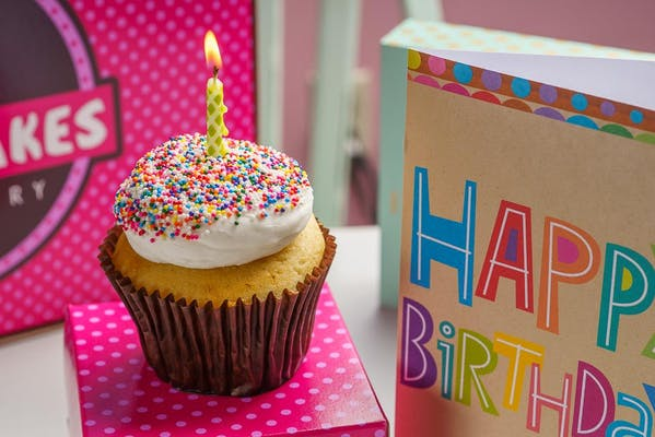 Birthday Cupcake Special