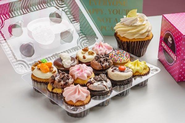 Assorted Dozen Mini Cupcakes