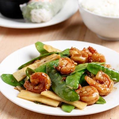 Shrimp & Snow Peas