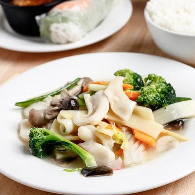 Squid & Chinese Vegetables