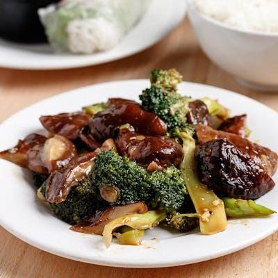 Vegetable & Bean Curd Plate